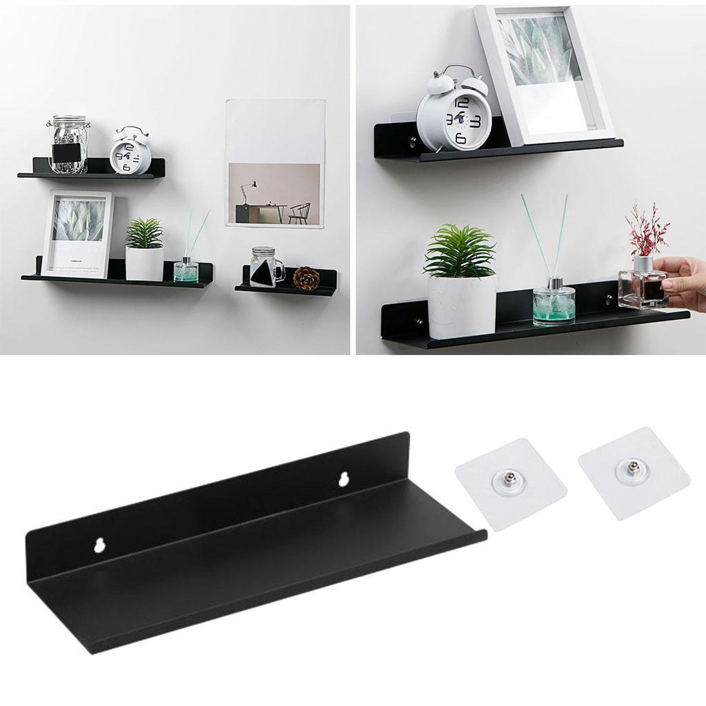 miniatura 13 - Durevole In Acciaio Al Carbonio Mensola Mobile Rack per la Casa