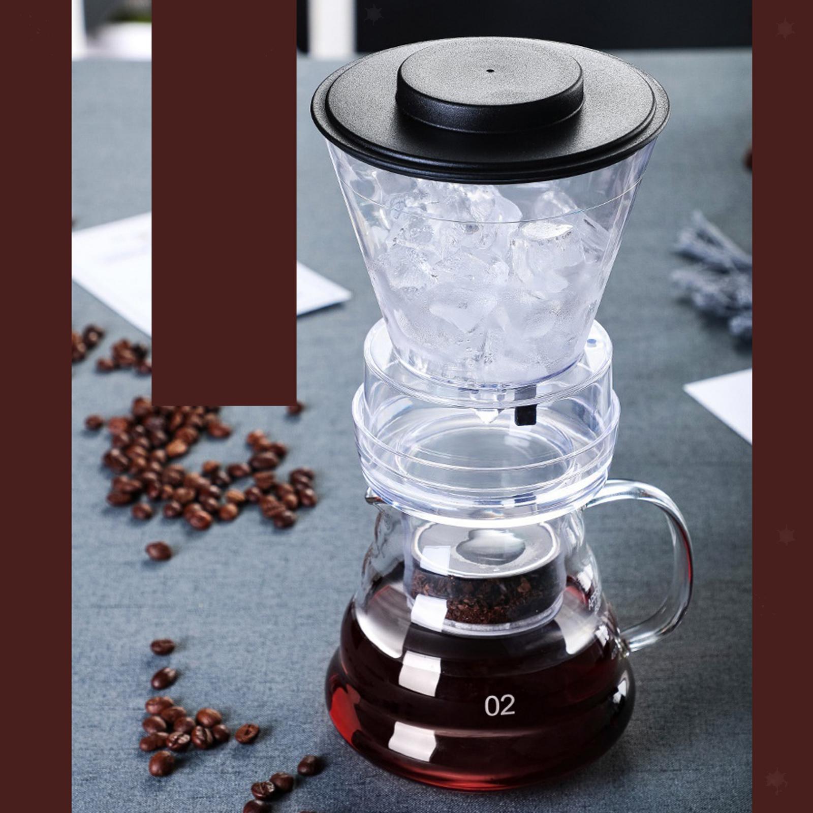 miniatura 10 - Ghiaccio macchina per il Caffè Caffè Pentola di Caffè Dripper Versare Sopra