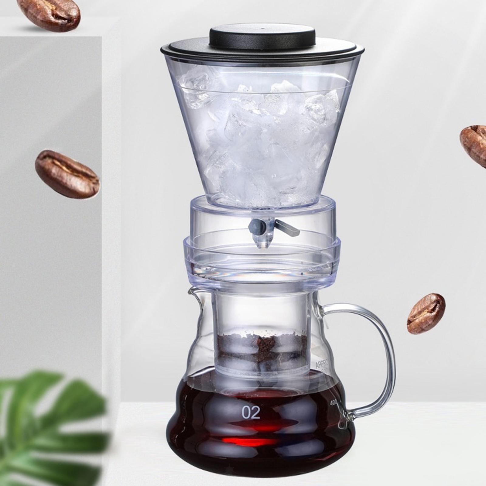 miniatura 5 - Ghiaccio macchina per il Caffè Caffè Pentola di Caffè Dripper Versare Sopra