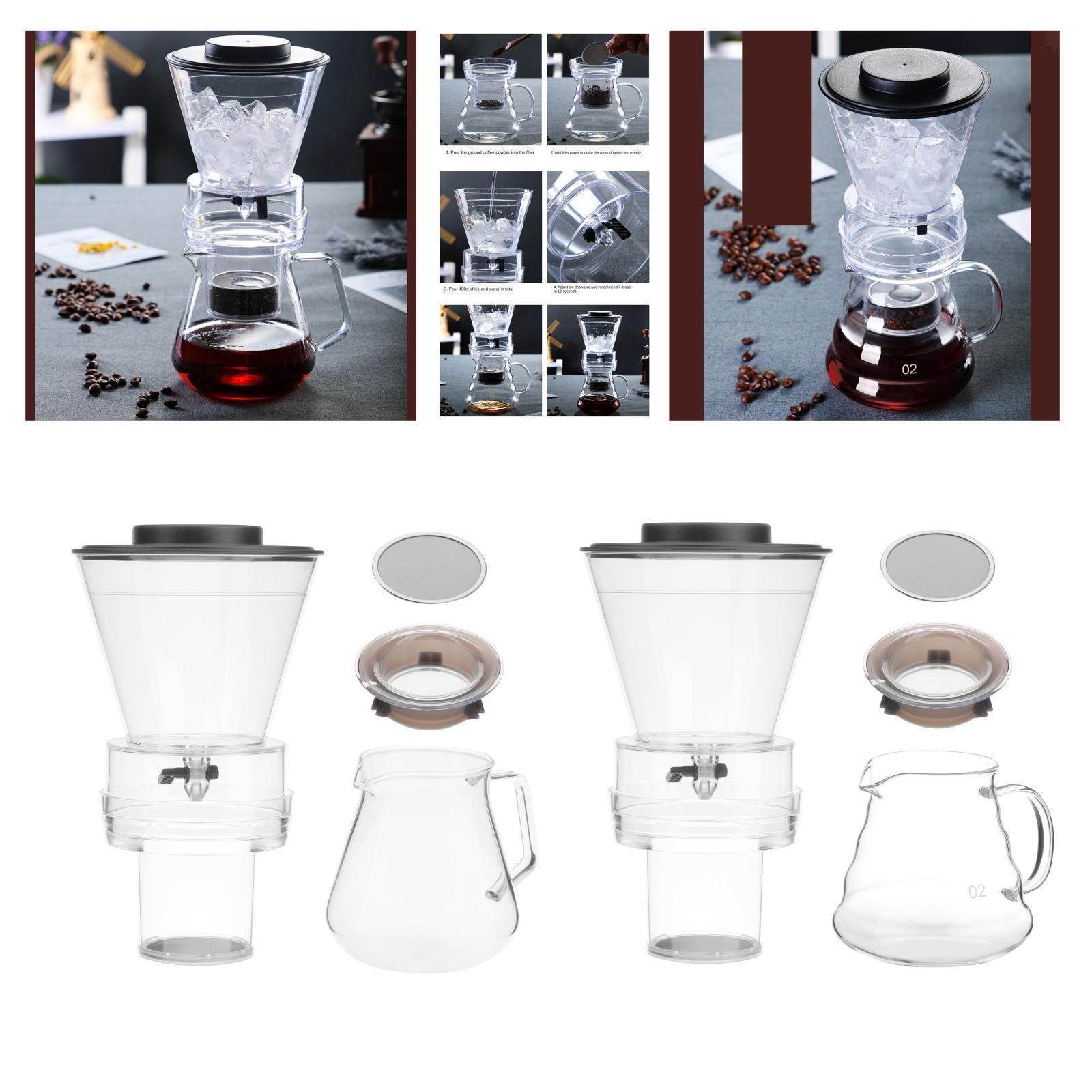 Ghiaccio macchina per il Caffè Caffè Pentola di Caffè Dripper Versare Sopra
