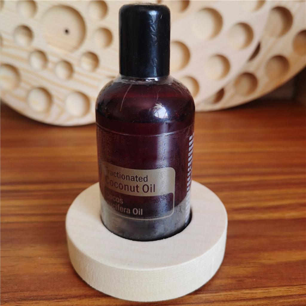 Di-alta-Qualita-di-Olio-Essenziale-di-Legno-Contenitore-Del-Basamento-della miniatura 7