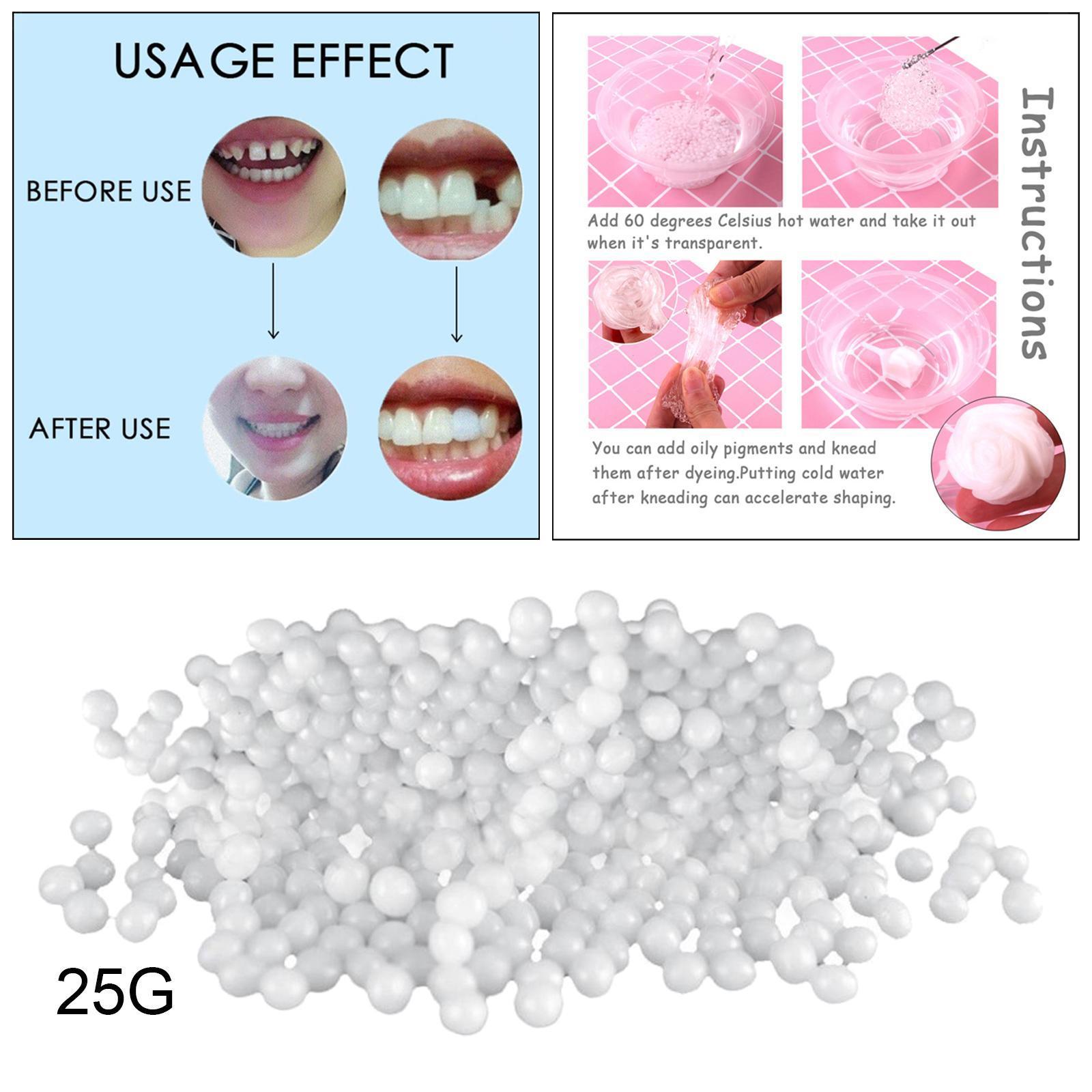 Perline-termiche-Faccette-per-denti-Perline-termiche-per-riparazione-temporanea miniatura 4