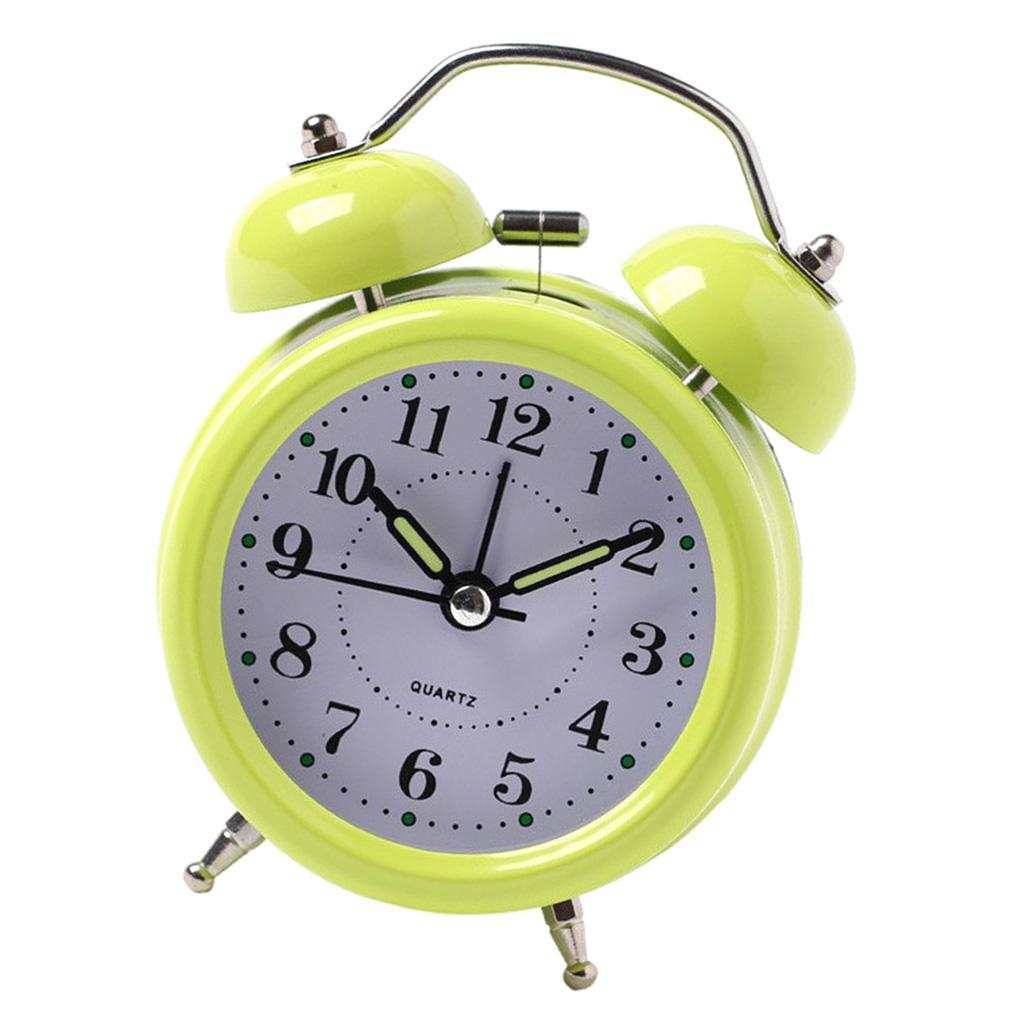 3inch-Travel-Non-ticking-Bedside-Alarm-Clock-Battery-Twin-Bell-Loud-Chime-Clock thumbnail 15