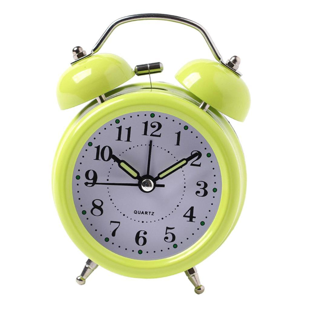 3inch-Travel-Non-ticking-Bedside-Alarm-Clock-Battery-Twin-Bell-Loud-Chime-Clock thumbnail 14