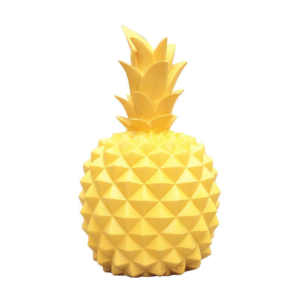 miniatura 18 - Resina A Forma Di Ananas Figurine Manufatti Per Arredamento Salvadanai