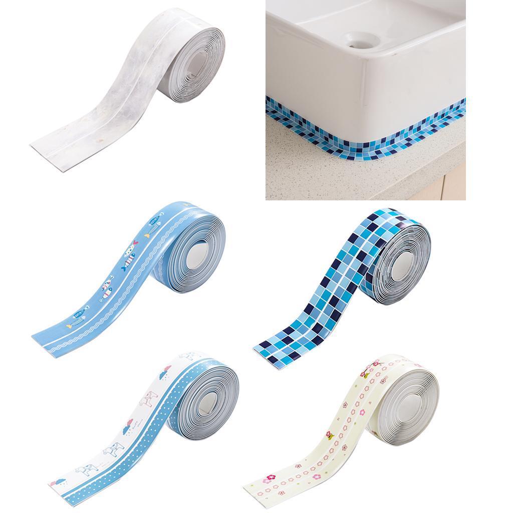 Selbstklebende Dichtband Wasserdichtes Klebeband für Toilette ...