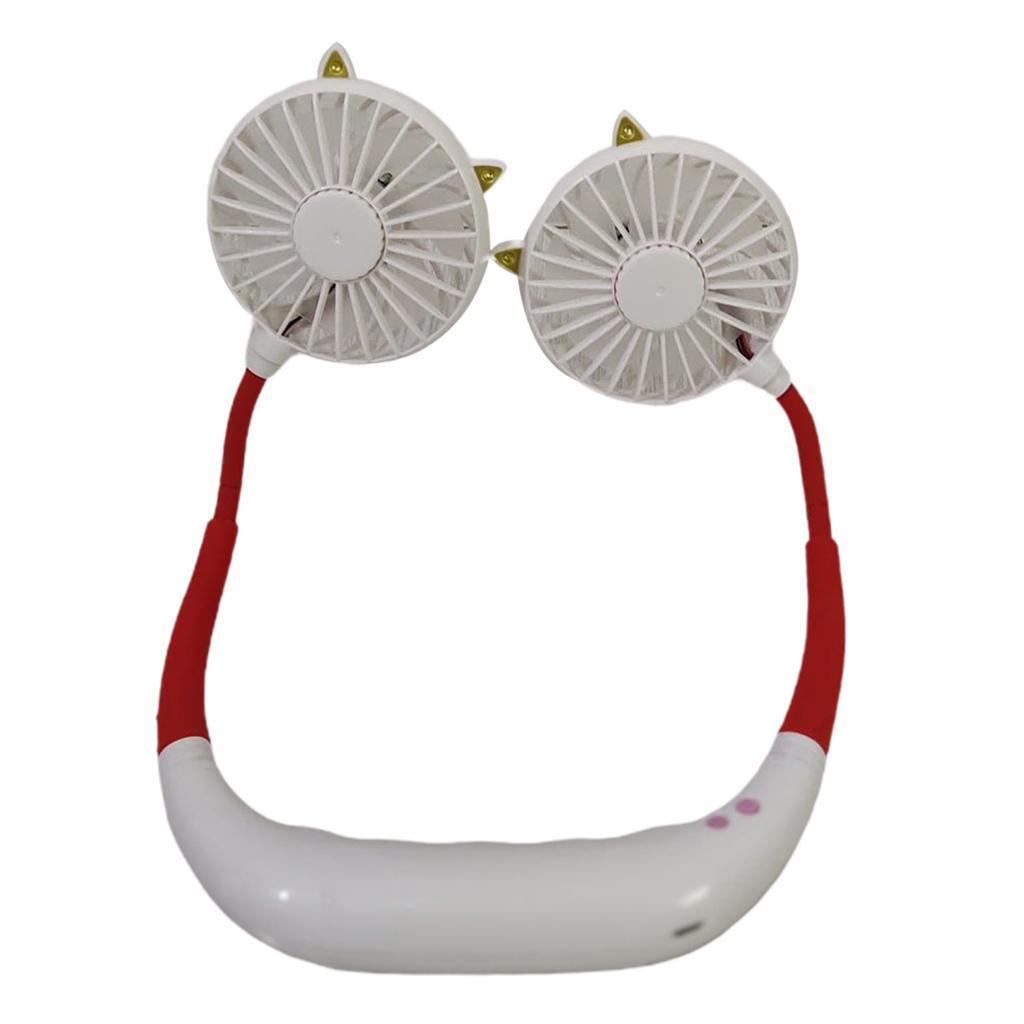 Cou-De-Cou-Suspendu-Mini-Ventilateur-De-Refroidissement-Sport-Reste-USB miniature 9