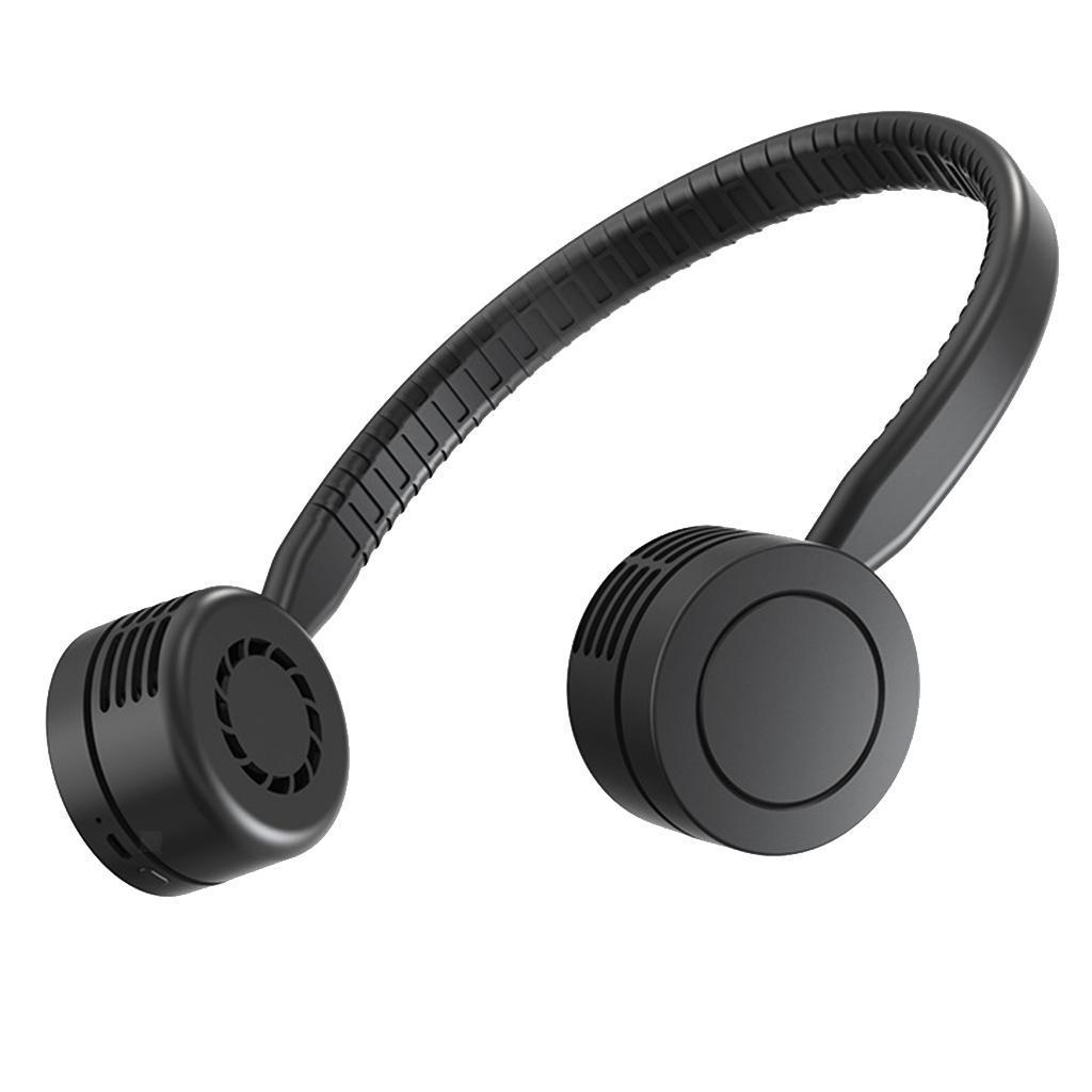 Ventilateur-De-Cou-Suspendu-Mini-Portable-USB-Sports-electriques-Run-Coolband miniature 9