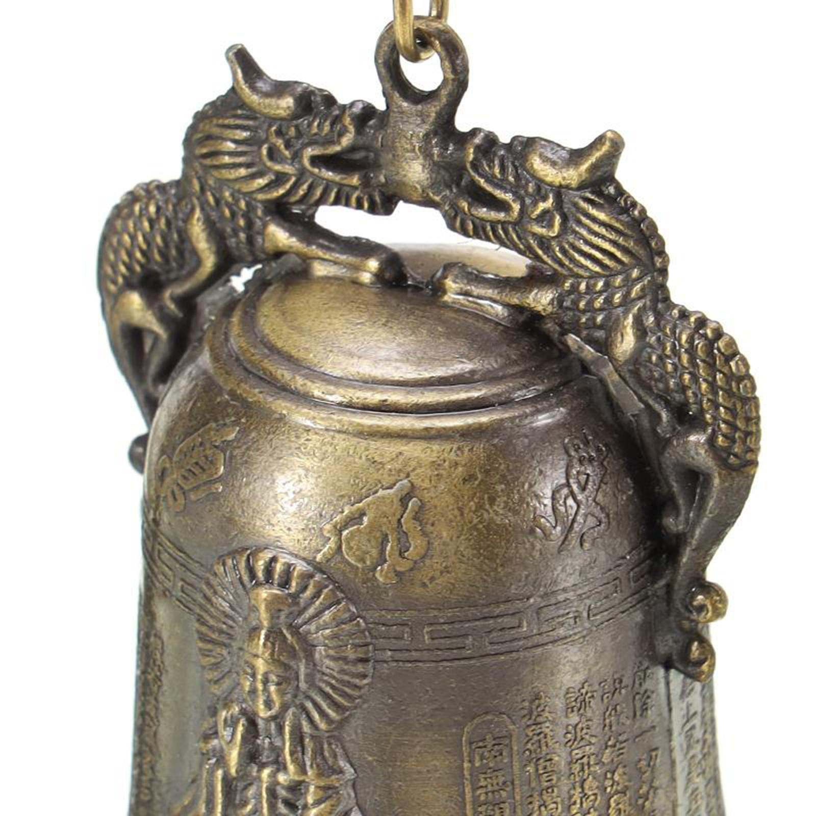 miniatura 11 - Buddha Drago Fengshui campana giocattoli tibetano per Home GIARDINO