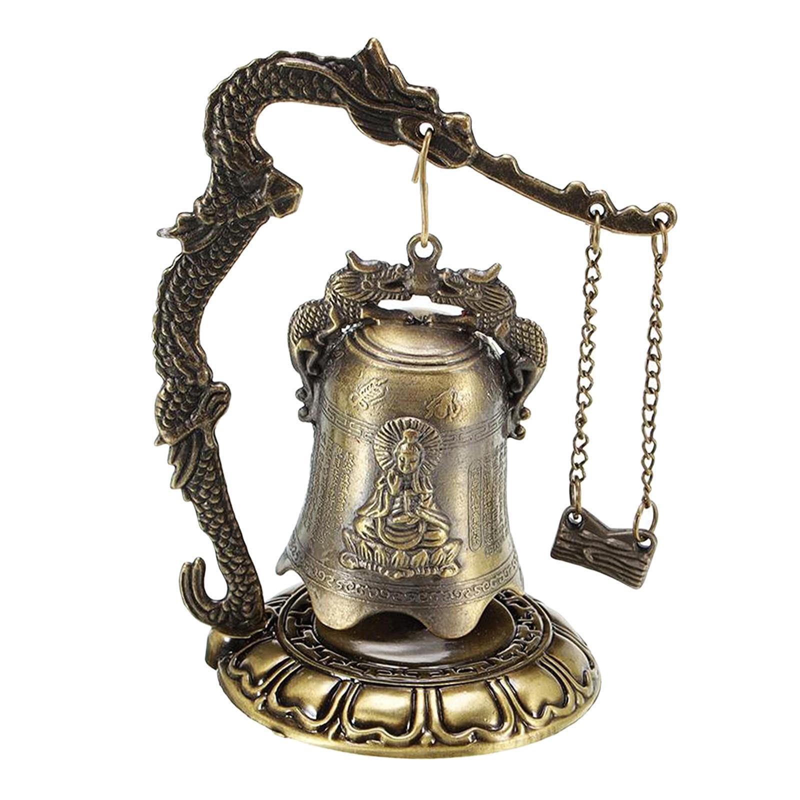 miniatura 4 - Buddha Drago Fengshui campana giocattoli tibetano per Home GIARDINO