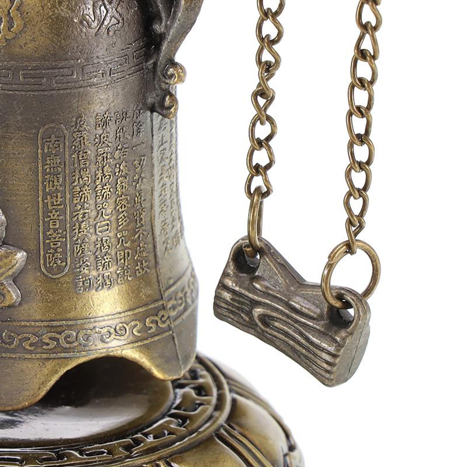 miniatura 9 - Buddha Drago Fengshui campana giocattoli tibetano per Home GIARDINO