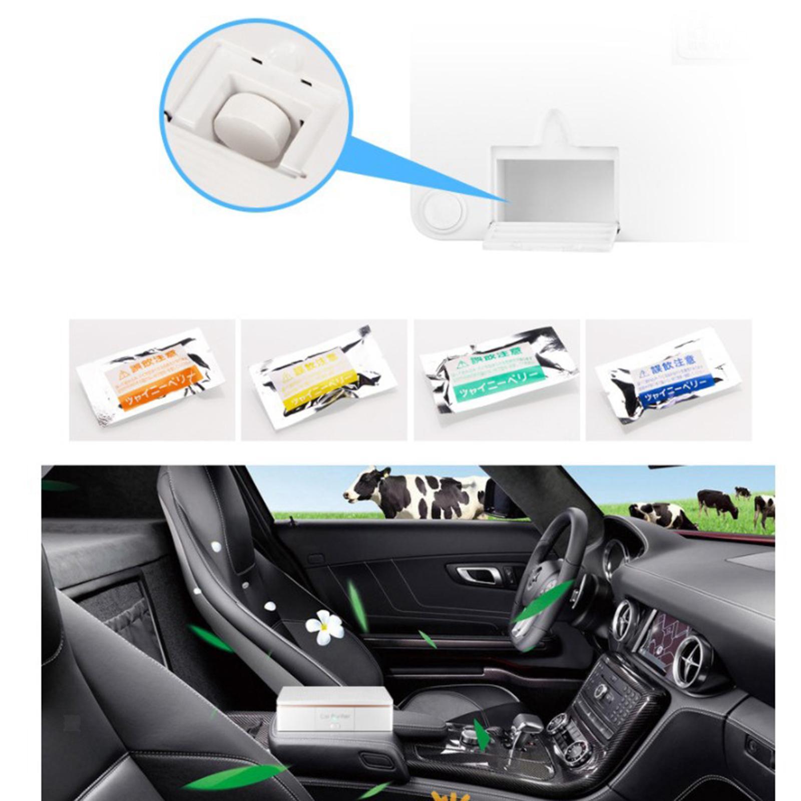 Indexbild 10 - Auto Air Purifier Luft Reiniger Deodorizer Ionisator für Home Office