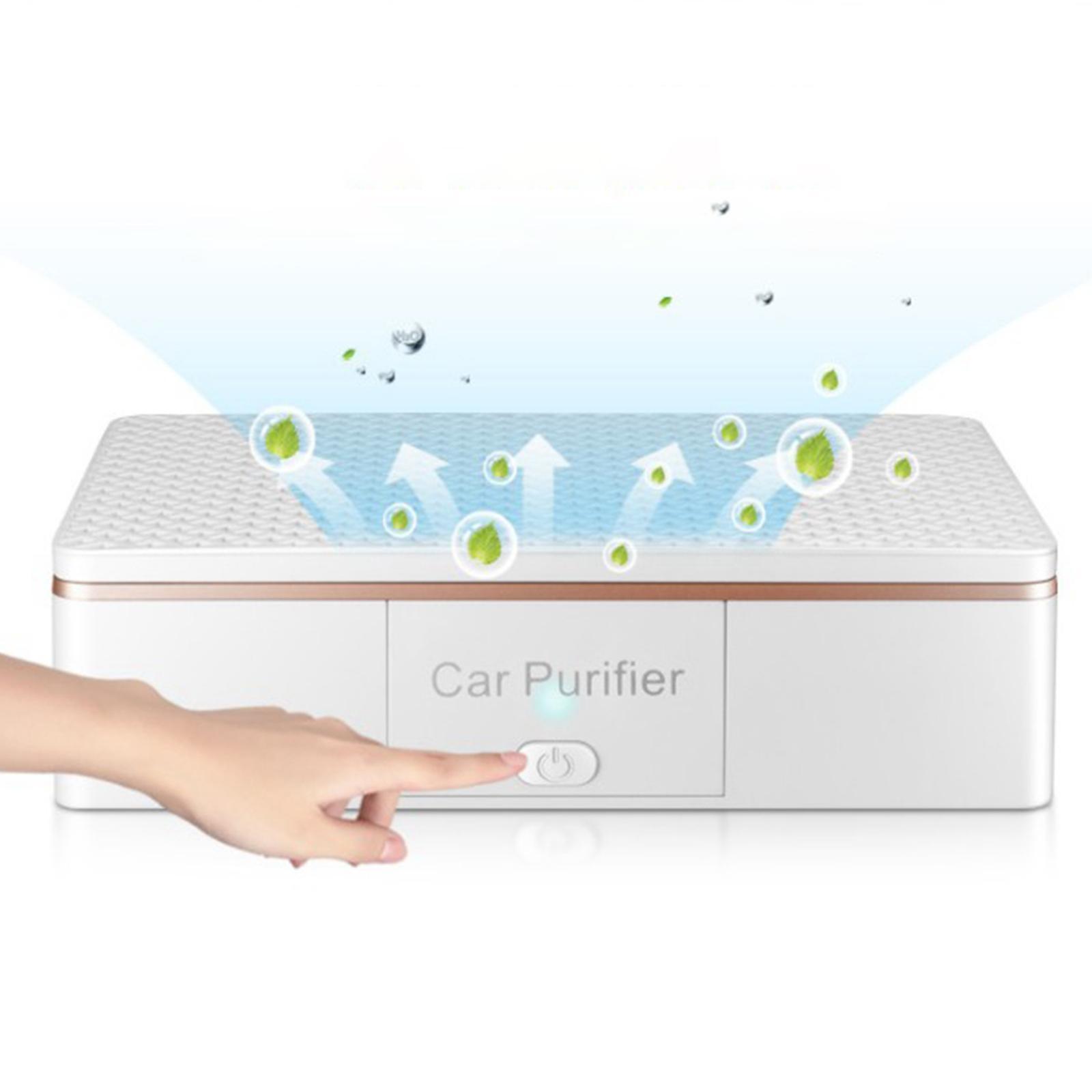 Indexbild 9 - Auto Air Purifier Luft Reiniger Deodorizer Ionisator für Home Office