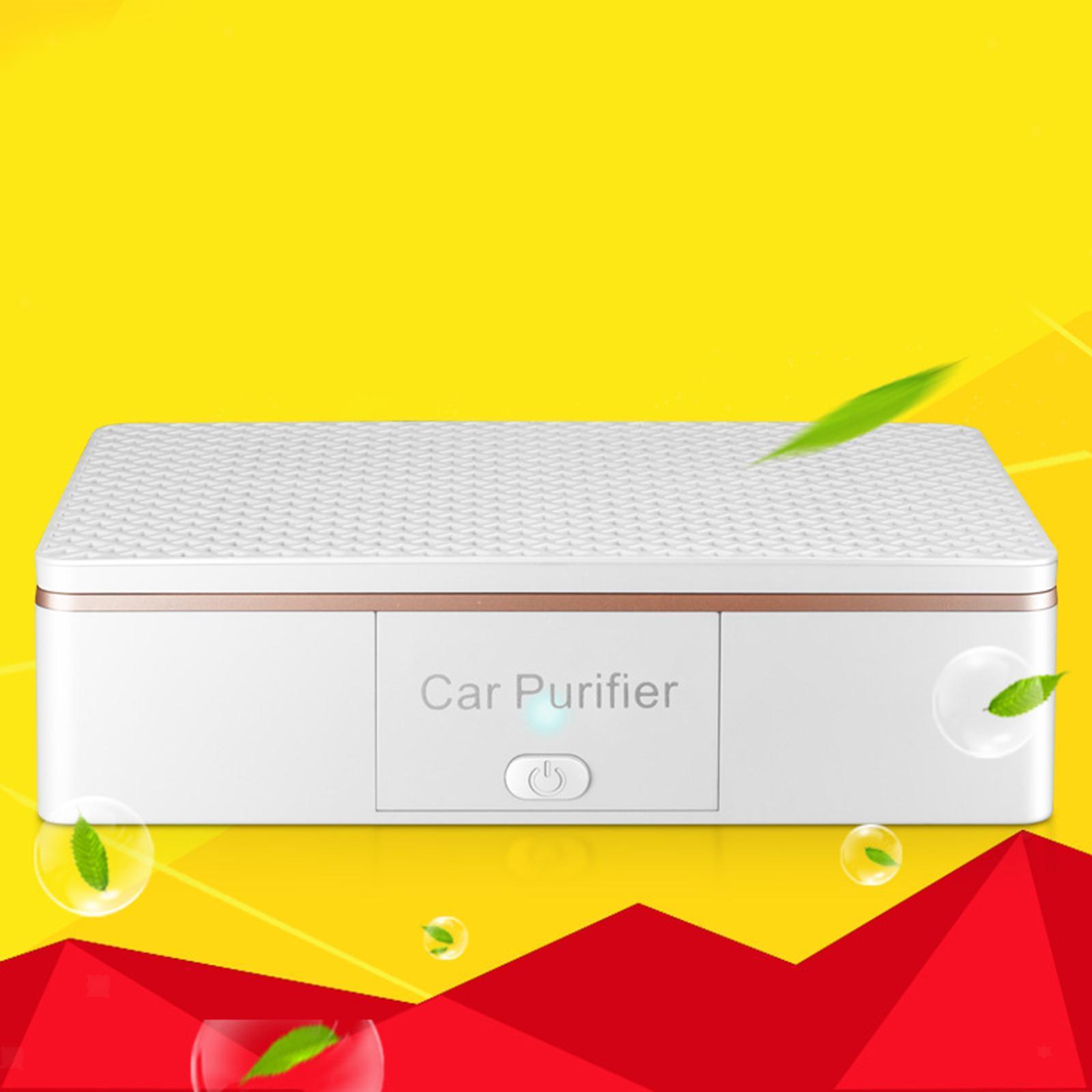 Indexbild 8 - Auto Air Purifier Luft Reiniger Deodorizer Ionisator für Home Office