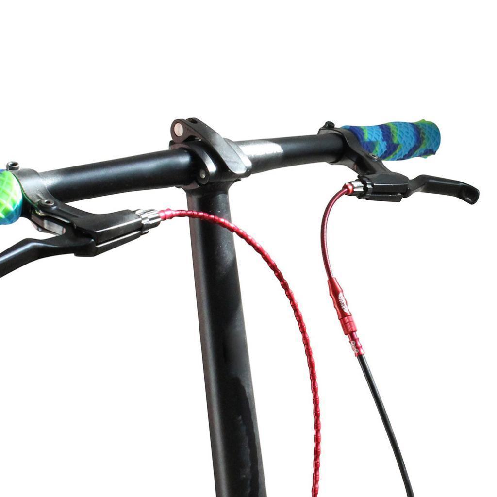 Litepro Bicycle Brake noodle MTB Folding Bike V Brake Cable Guide Flexible
