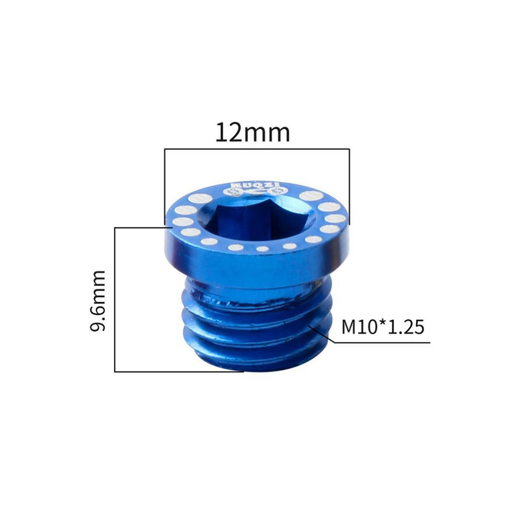 MUQZI Bicycle Screw Bolt M10X1.25 for V Brake Hole V Brake Boss Cantilever F5M3