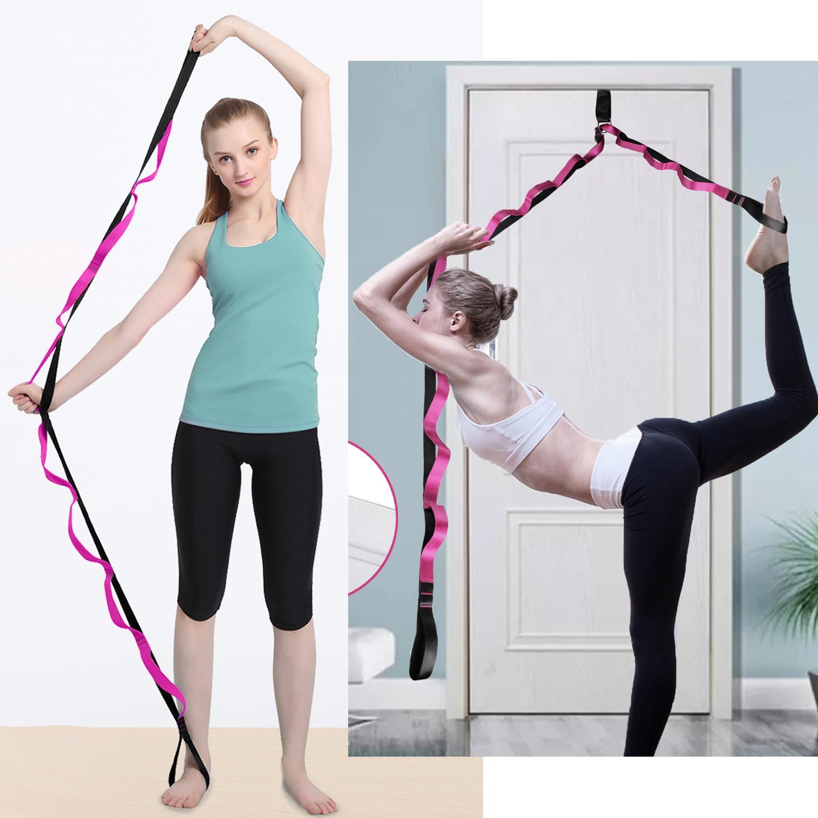 miniatura 34 - Pierna camilla yoga Stretch Strap Latin Dance Gymnastic pull cinturón flexibilidad