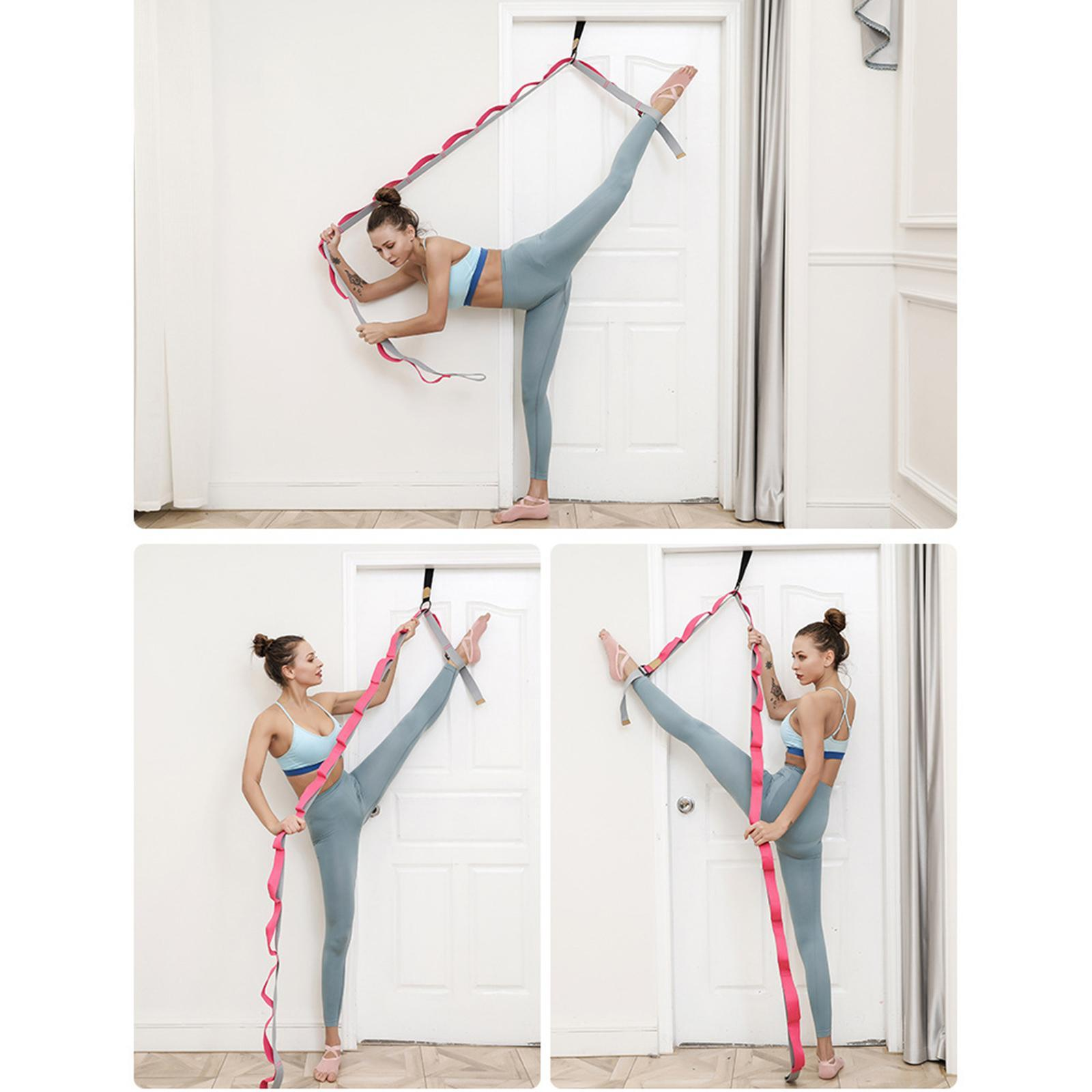 miniatura 32 - Pierna camilla yoga Stretch Strap Latin Dance Gymnastic pull cinturón flexibilidad