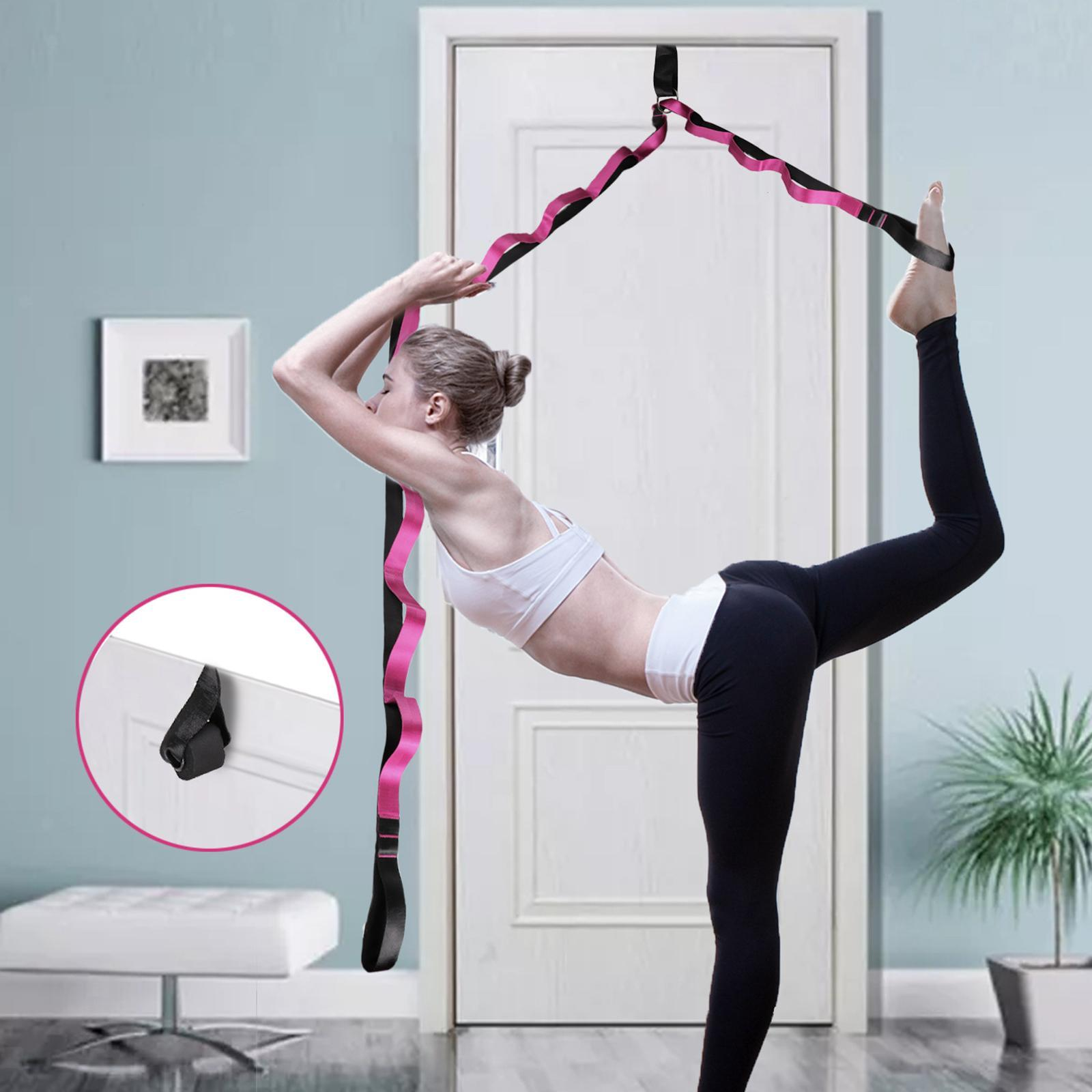 miniatura 38 - Pierna camilla yoga Stretch Strap Latin Dance Gymnastic pull cinturón flexibilidad