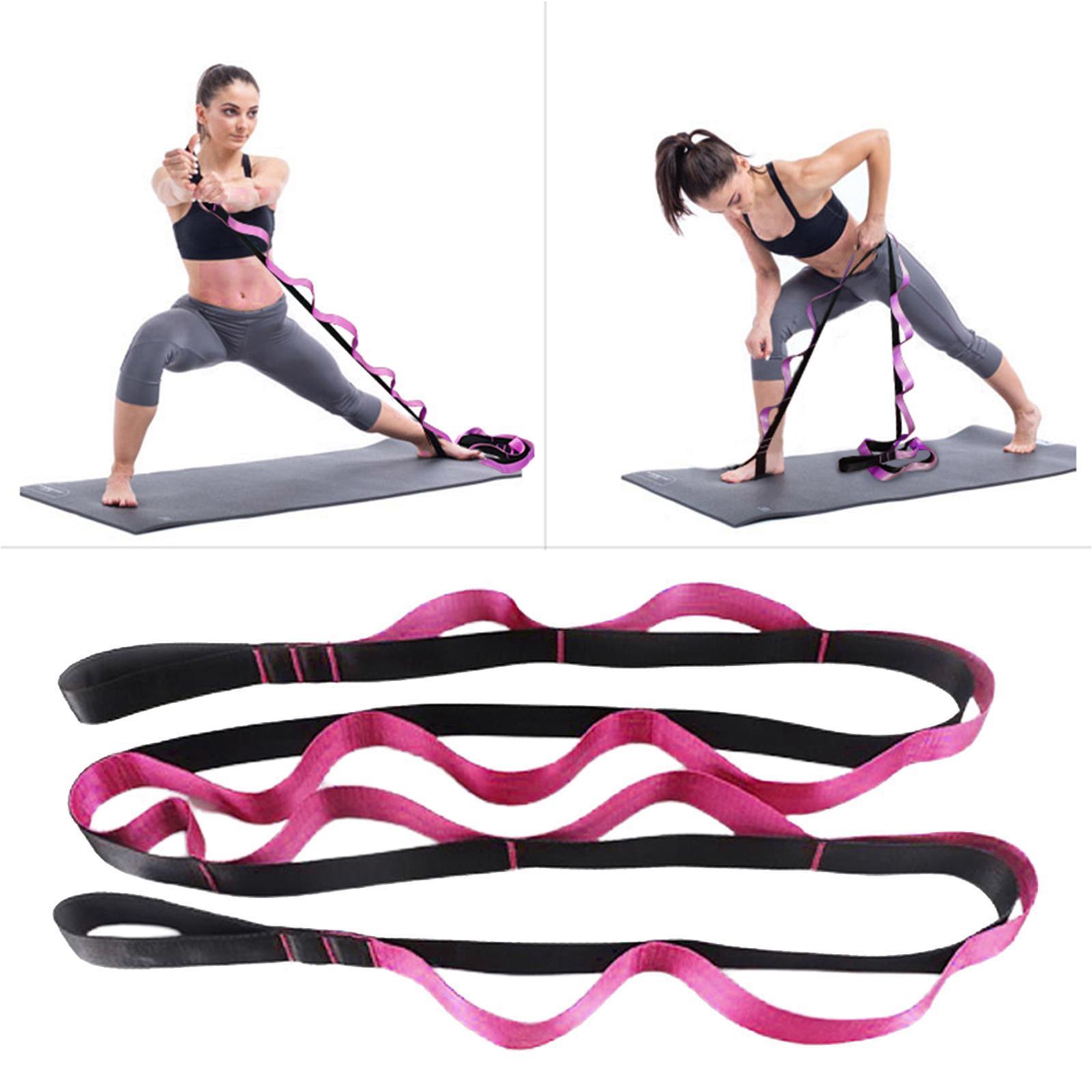 miniatura 28 - Pierna camilla yoga Stretch Strap Latin Dance Gymnastic pull cinturón flexibilidad