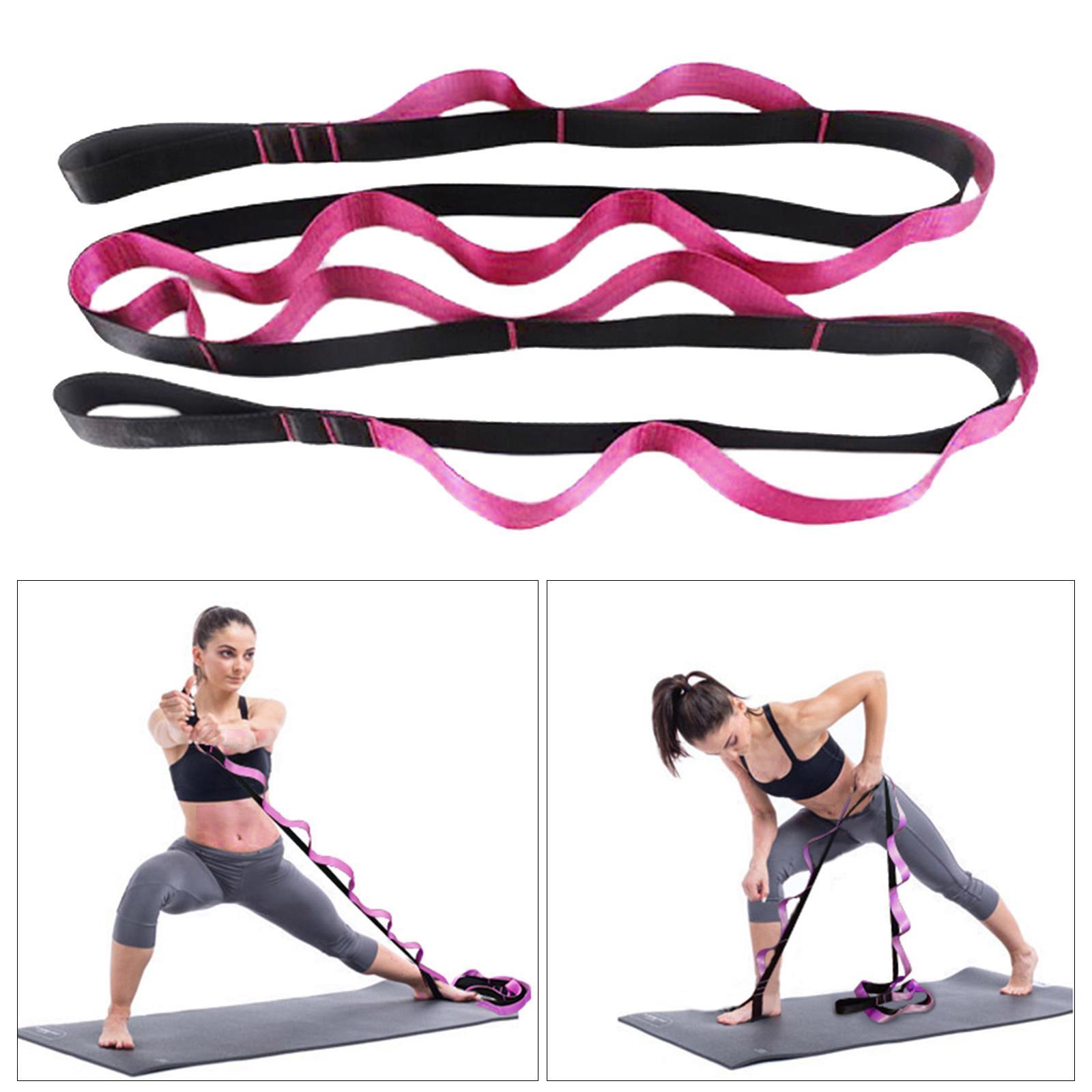miniatura 29 - Pierna camilla yoga Stretch Strap Latin Dance Gymnastic pull cinturón flexibilidad