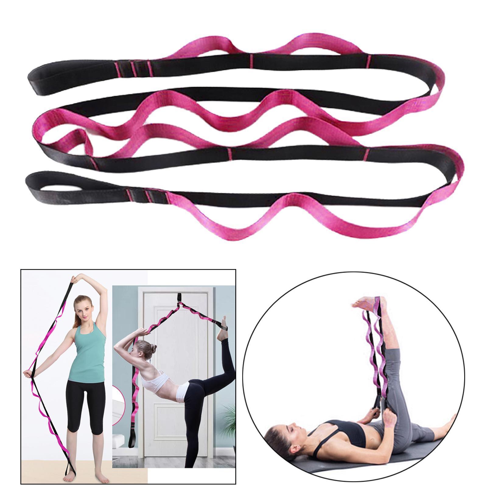 miniatura 30 - Pierna camilla yoga Stretch Strap Latin Dance Gymnastic pull cinturón flexibilidad