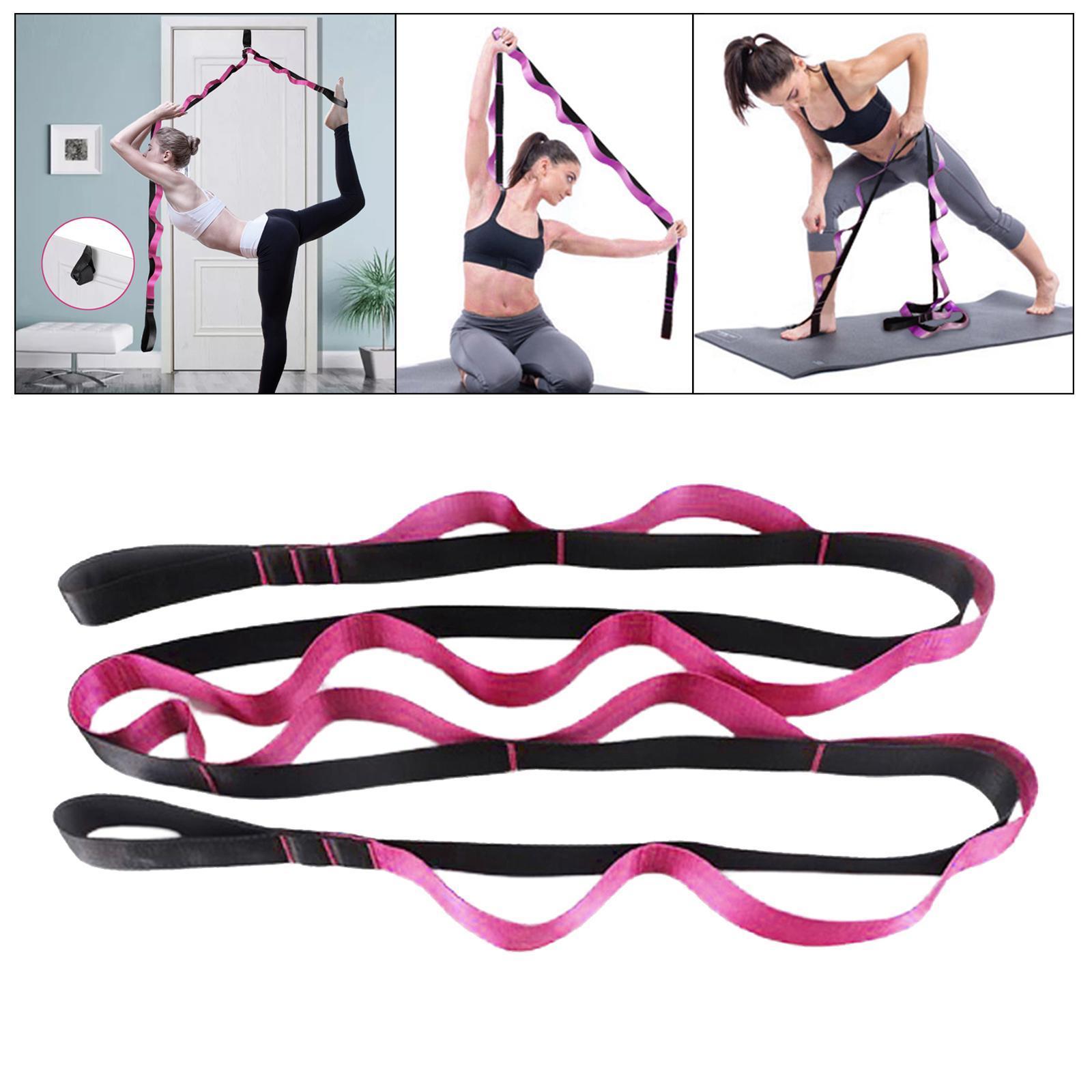miniatura 31 - Pierna camilla yoga Stretch Strap Latin Dance Gymnastic pull cinturón flexibilidad