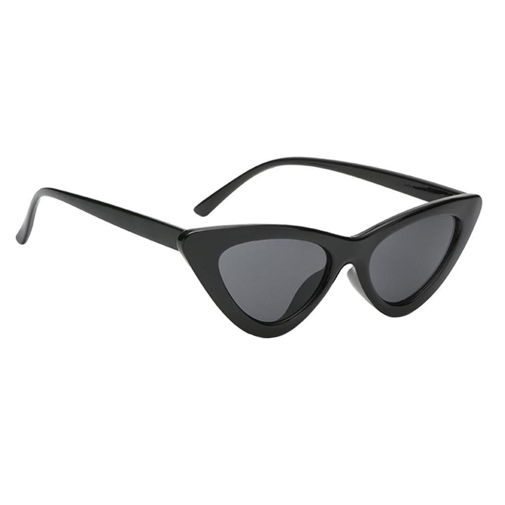 2er-Pack-Frauen-Vintage-Dreieck-Verspiegelte-Sonnenbrille-Brillen-Designer Indexbild 18