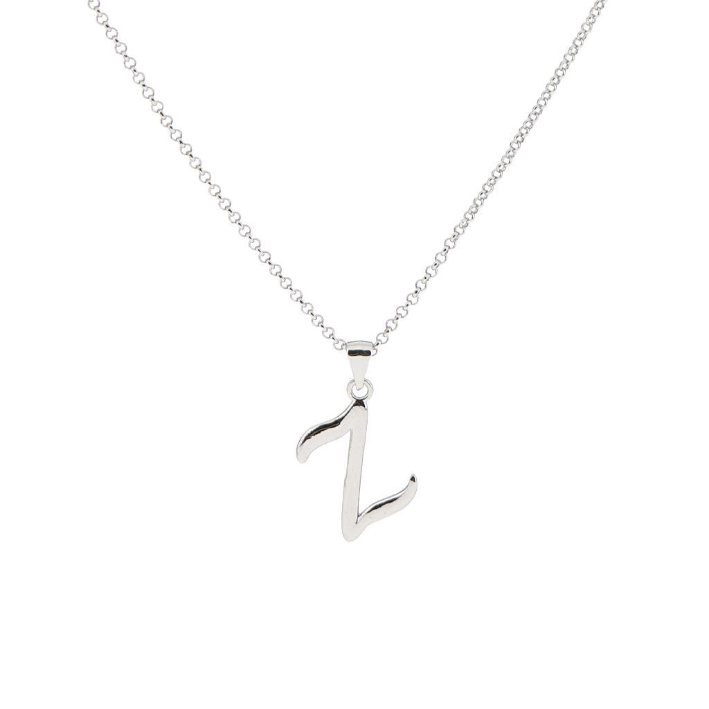 A-Z-Alphabet-Initial-Letter-Pendant-Necklace-Chain-Choker-Jewelry-Men-Women thumbnail 74