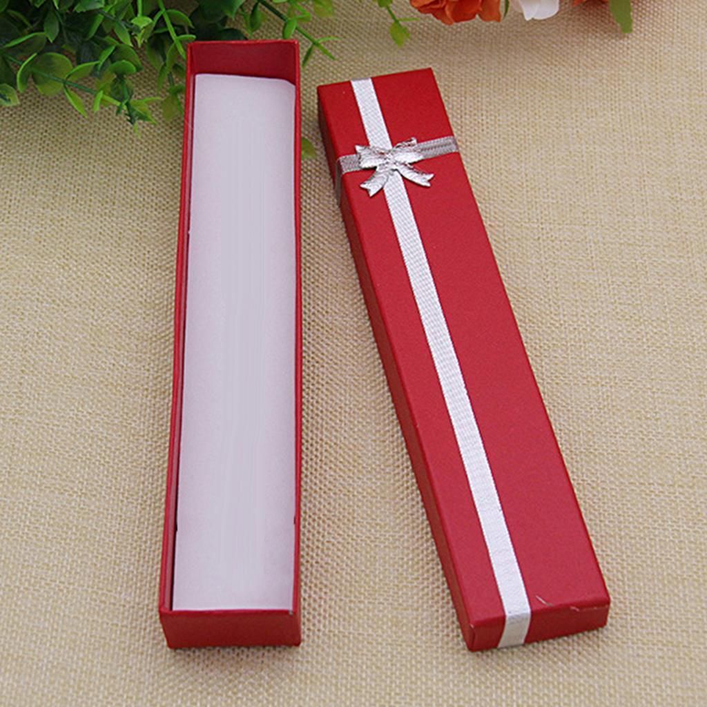Wholesale-24pcs-Bowknot-Jewelry-Box-Necklace-Paper-Box-Birthday-Present-Gift-Box thumbnail 9