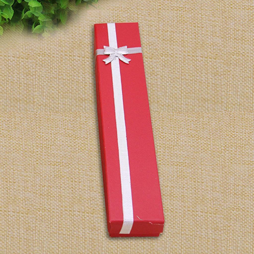 Wholesale-24pcs-Bowknot-Jewelry-Box-Necklace-Paper-Box-Birthday-Present-Gift-Box thumbnail 4