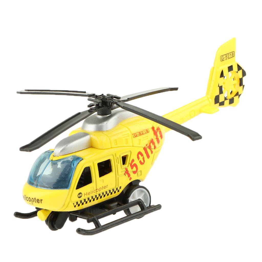 1:43 Skala Diecast Rettungs Hubschrauber Flugzeug Spielzeug