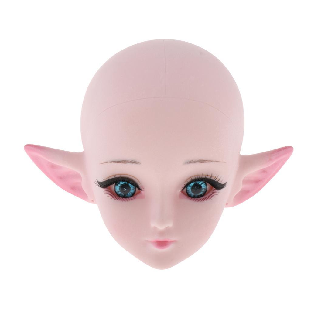 24-039-039-1-3-Dolls-Plastic-Head-DIY-Replacement-Doll-Body-Parts-White-Skin thumbnail 7