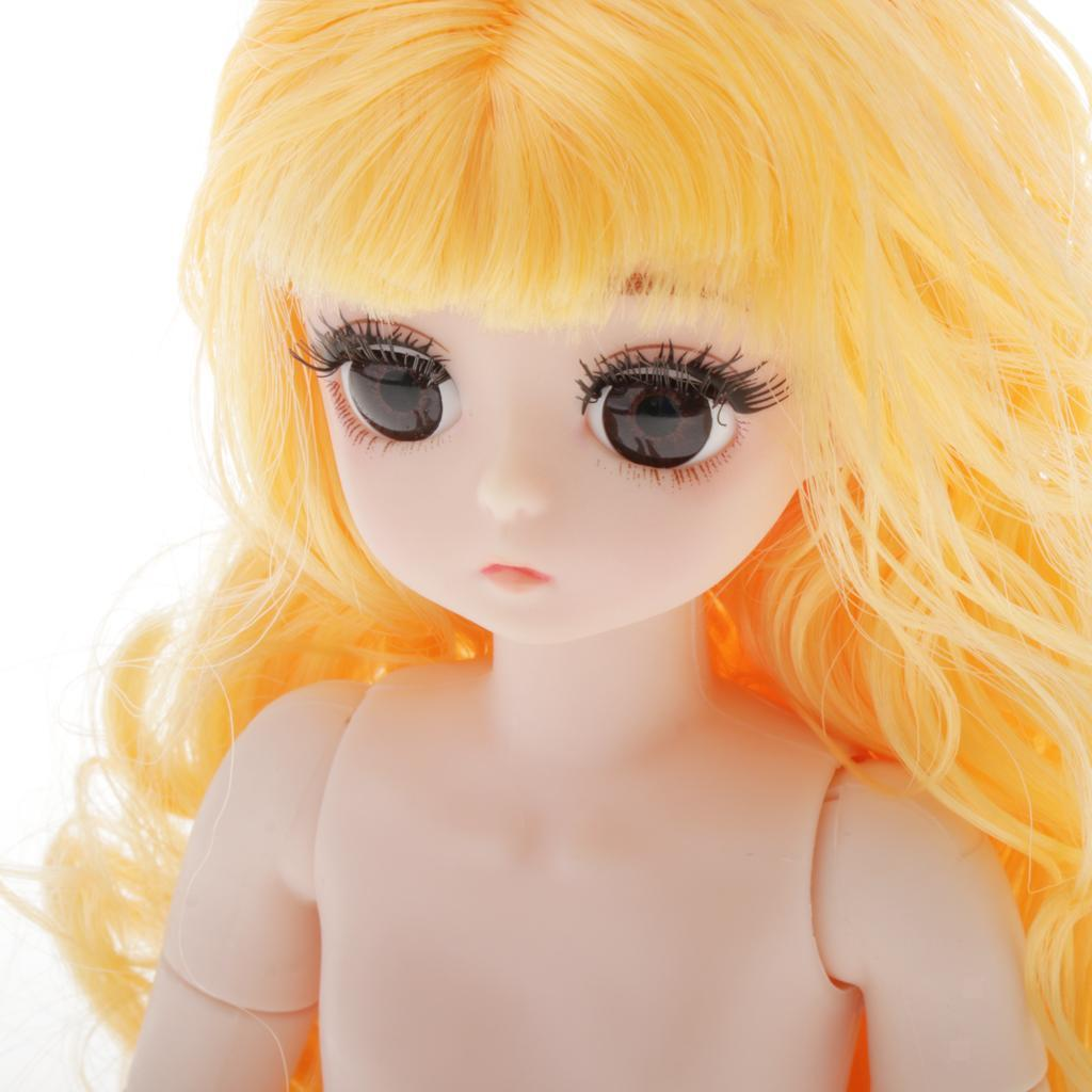 28cm-BJD-Baby-Girl-Doll-Nude-Body-Fashion-Dolls-DIY-Toy-for-Girls-Gifts thumbnail 52