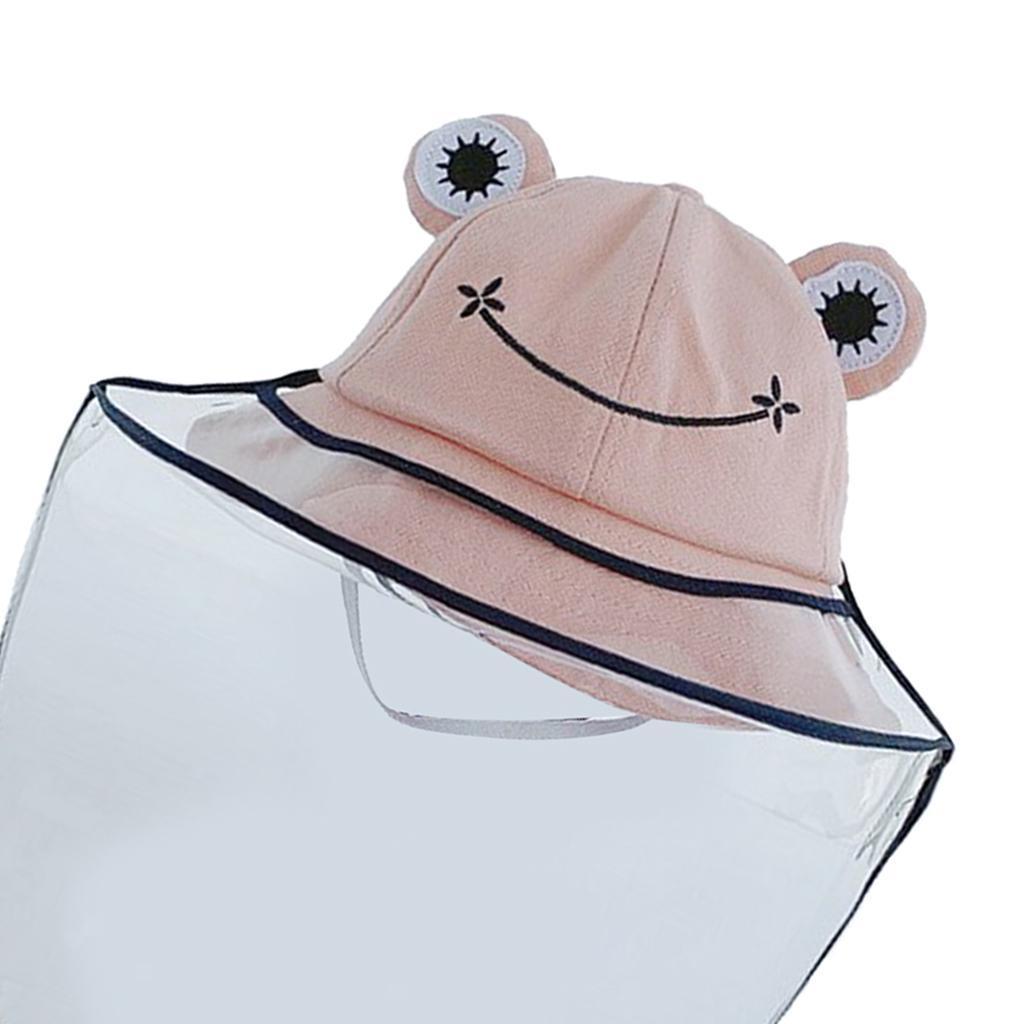 Baby-Transparent-Face-Shield-Anti-Spitting-Hat-Dust-Sun-Protective-Fishman-Caps thumbnail 19