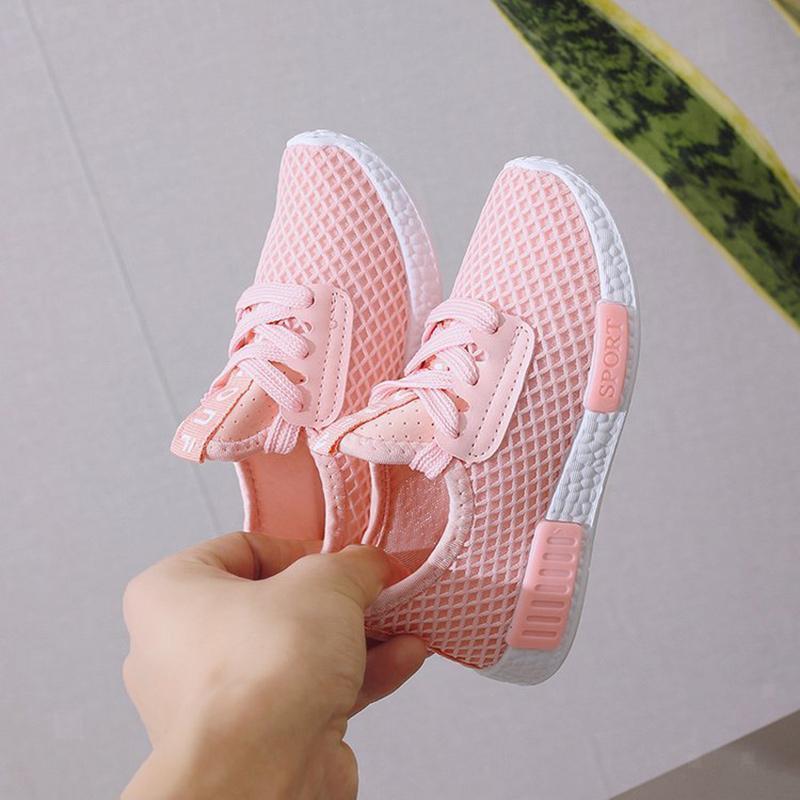 miniatura 25 - Pantofole-per-ragazzi-scarpe-sportive-scarpe-per-bambini-sneakers-per-ragazze