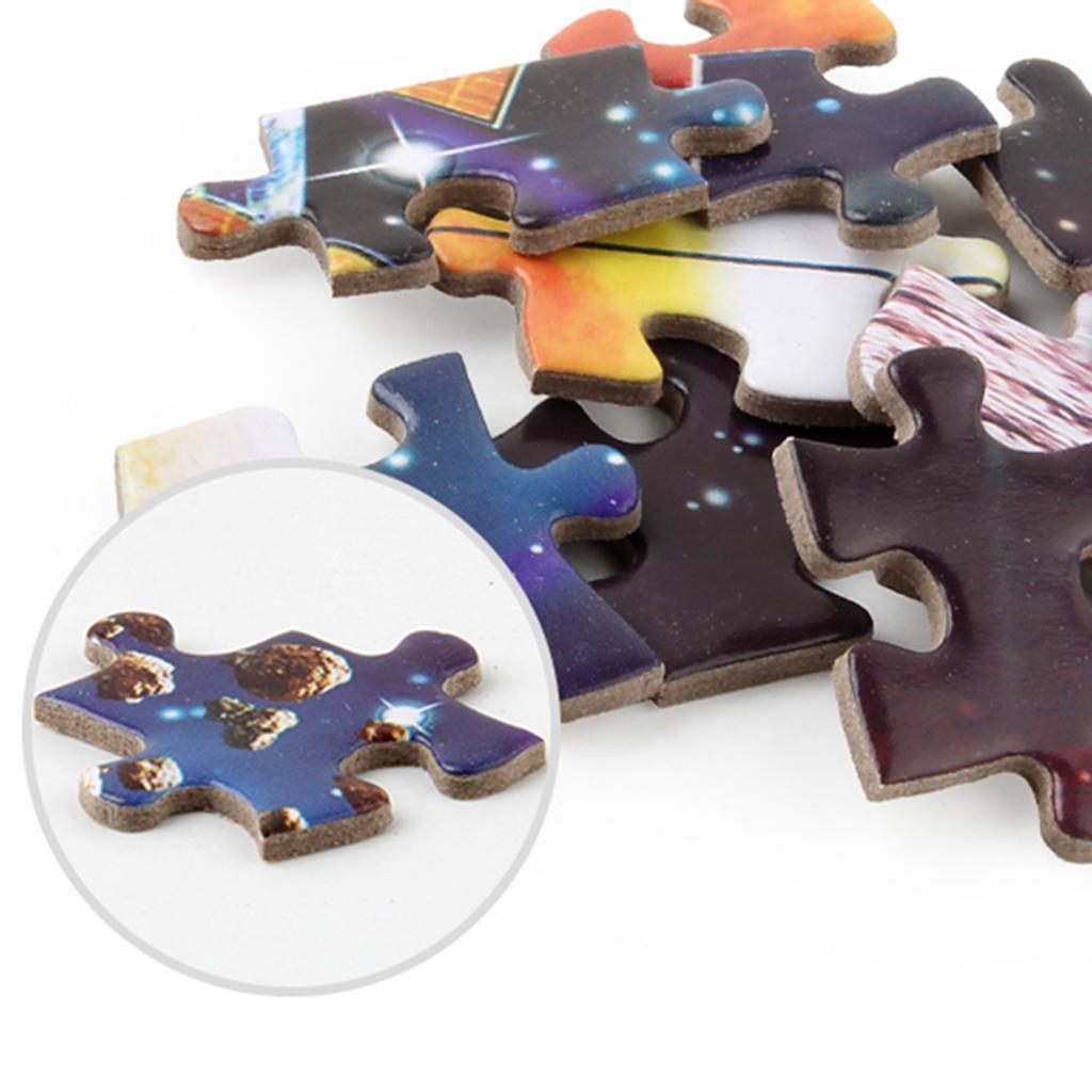 1000pcs DIY Flower Fox Paper Puzzle Educational Jigsaw Handmade Assembling Toys