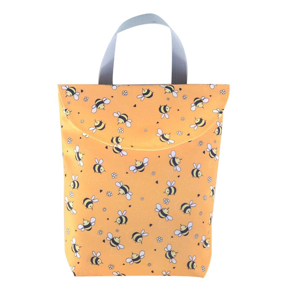 Baby-Diaper-Bag-Organizer-Fashion-Prints-Mummy-Storage-Bag-Outdoor-Reusable miniature 25
