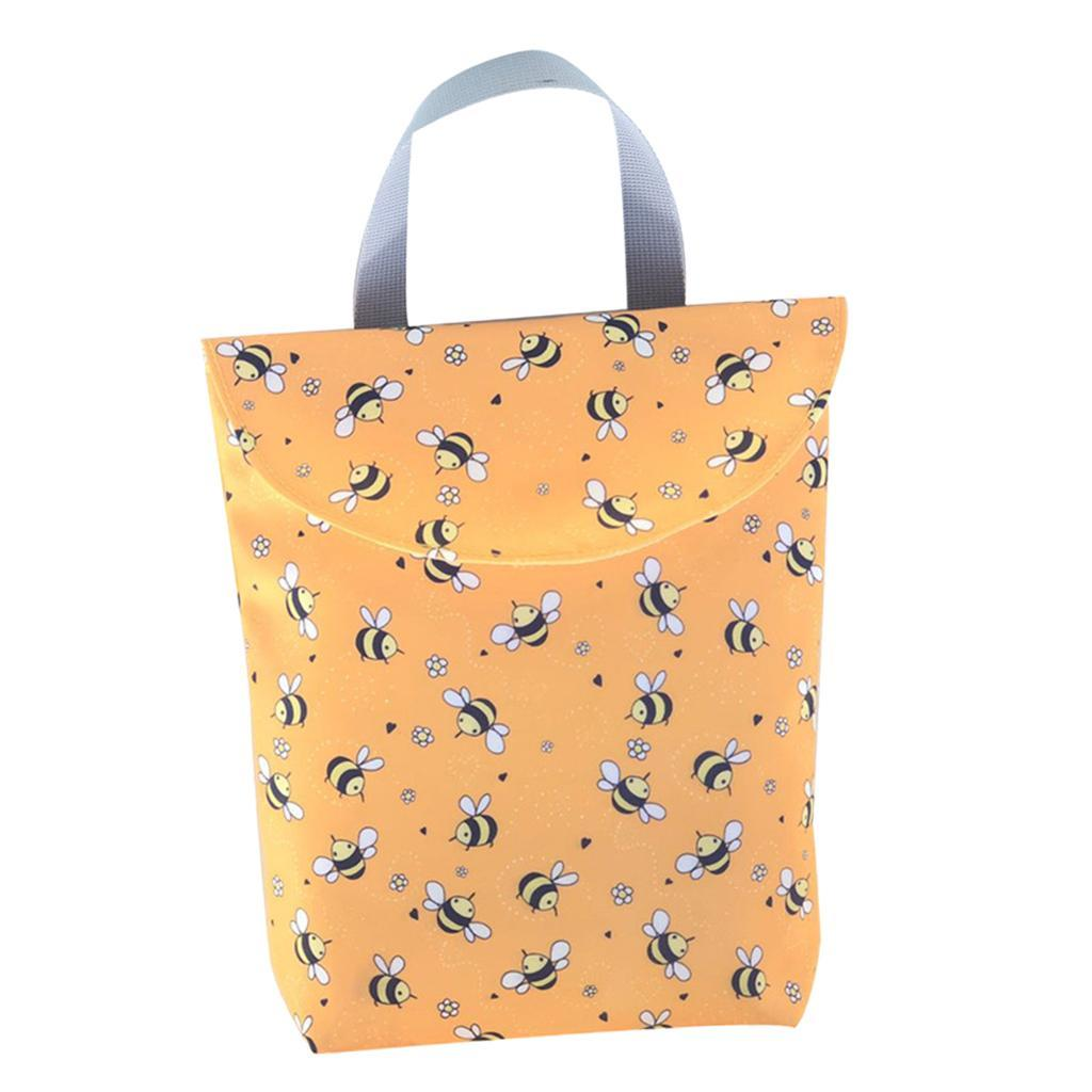 Baby-Diaper-Bag-Organizer-Fashion-Prints-Mummy-Storage-Bag-Outdoor-Reusable miniature 26