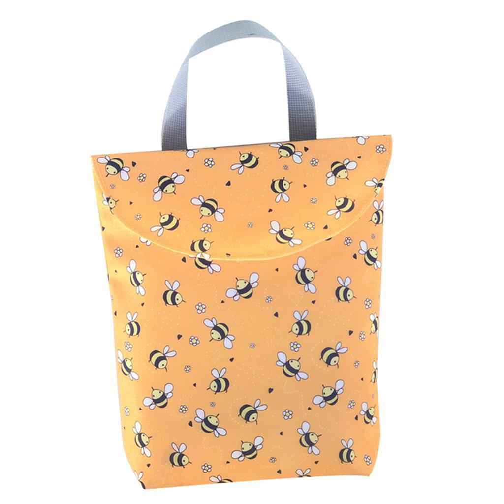Baby-Diaper-Bag-Organizer-Fashion-Prints-Mummy-Storage-Bag-Outdoor-Reusable miniature 27
