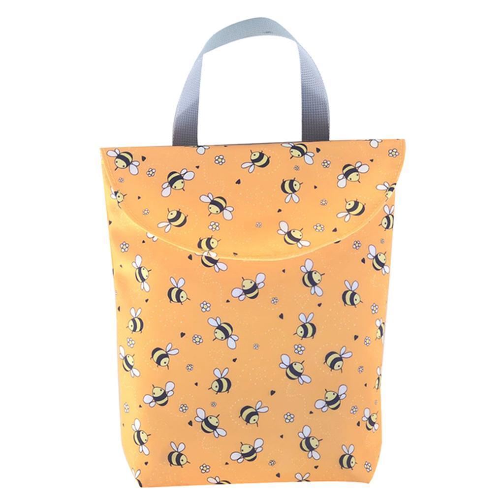 Baby-Diaper-Bag-Organizer-Fashion-Prints-Mummy-Storage-Bag-Outdoor-Reusable miniature 28