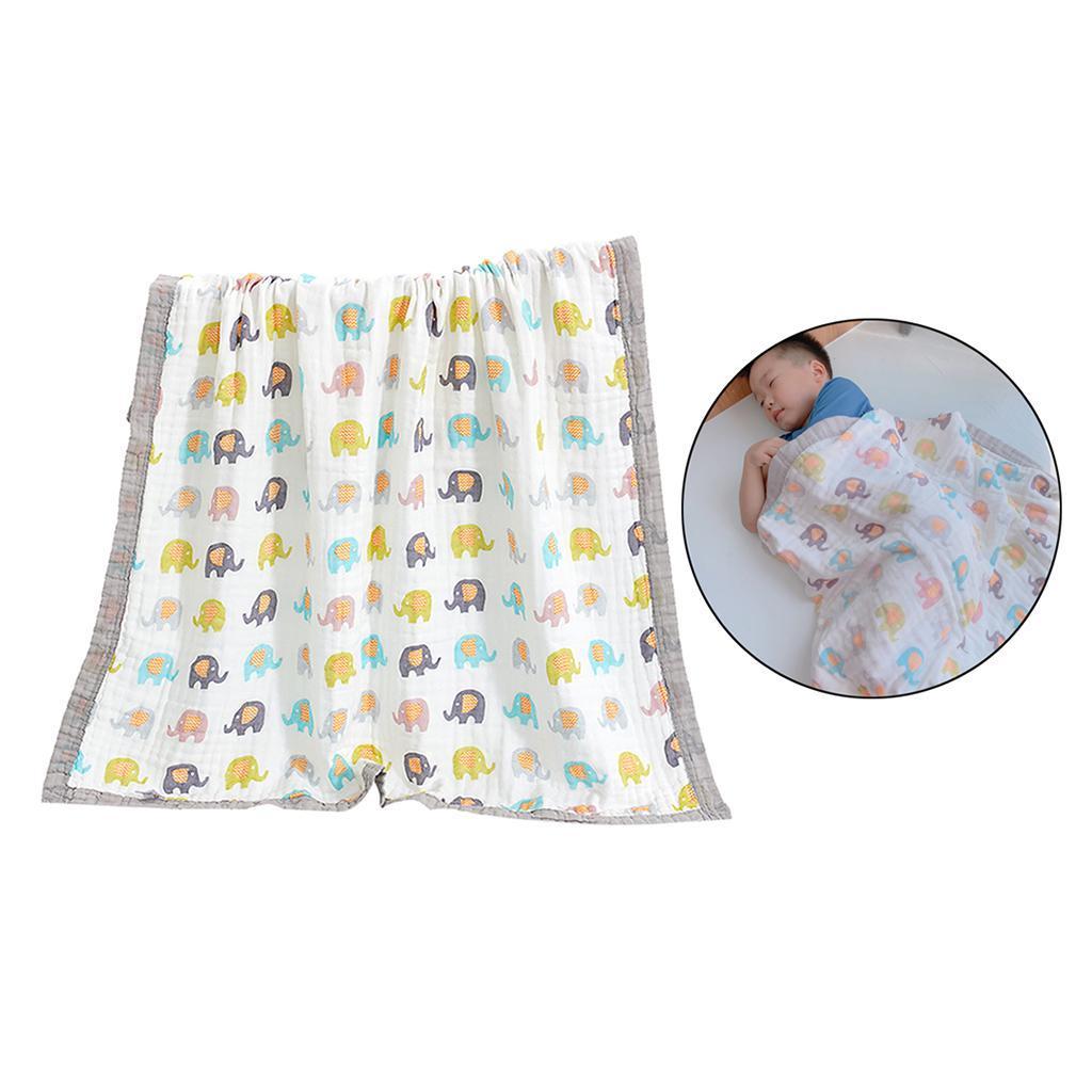 miniatura 18 - Coperta per bambini in mussola Coperta multiuso traspirante in 100% cotone per