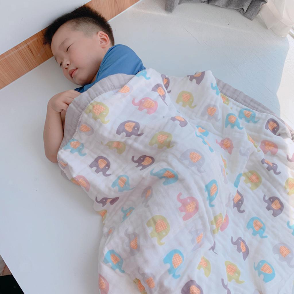 miniatura 18 - Coperte per neonati avvolgenti multiuso in morbido cotone traspirante per