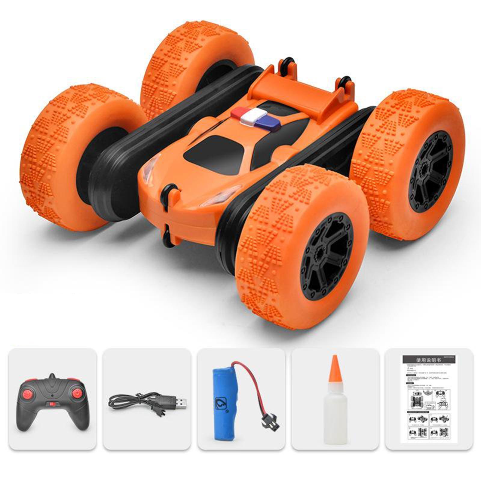 miniatura 40 - Telecomando Auto Stunt Car Giocattolo Per Bambini 2.4GHz di Controllo Remoto