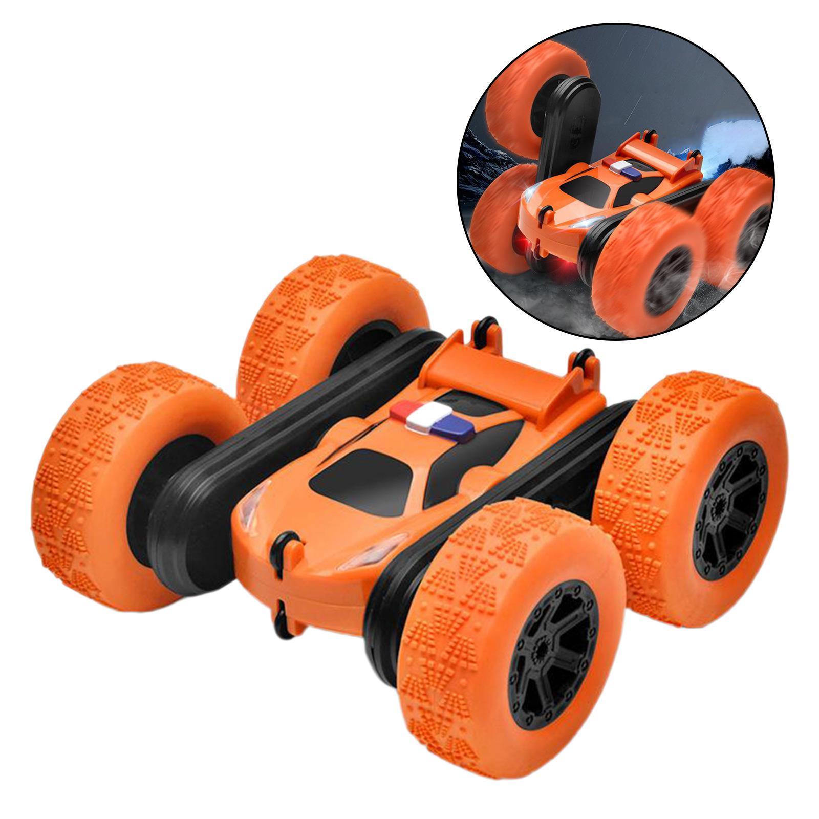 miniatura 41 - Telecomando Auto Stunt Car Giocattolo Per Bambini 2.4GHz di Controllo Remoto