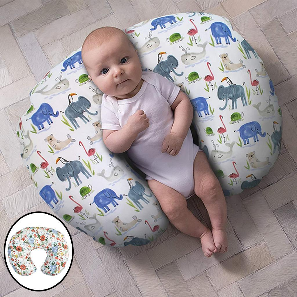 miniatura 18 - Fodera per cuscino per allattamento Federa per cuscino per allattamento al