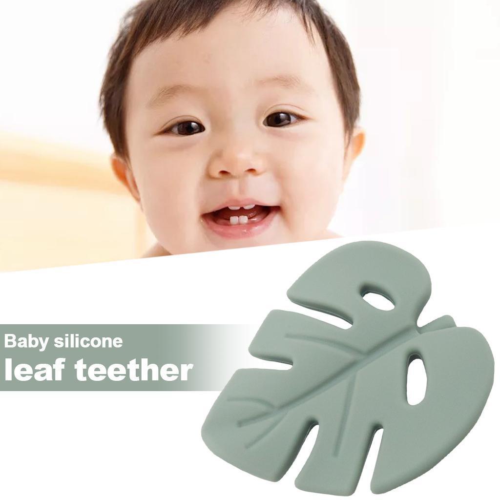 miniatura 15 - 1pc Silicone Baby Teethers Dentizione Giocattolo Masticabile per Neonato