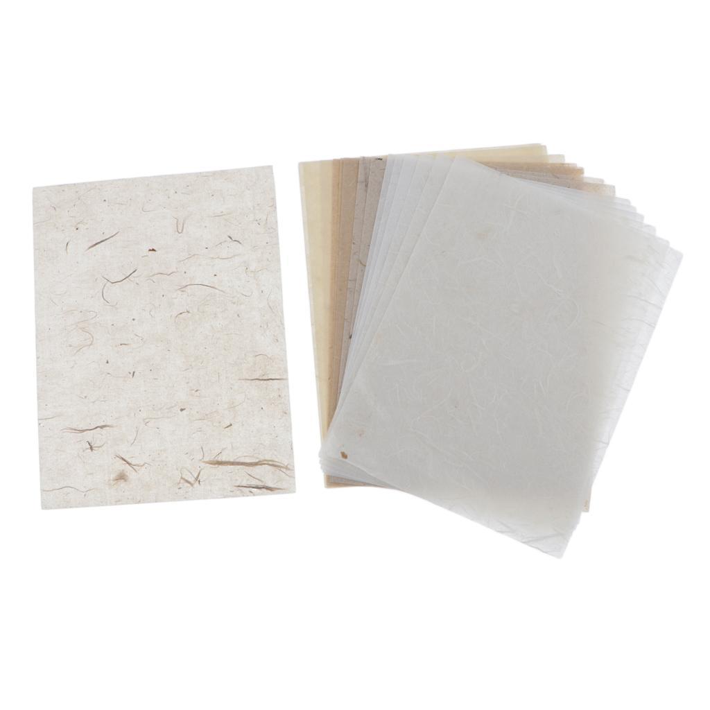 15-30pcs-Hintergrundpapier-Handgefertigt-fuer-Kartenherstellung-Schreiben Indexbild 16