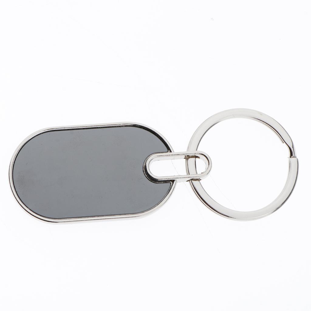 5x-Key-Tags-Blank-ID-Fobs-Metal-Keyrings-Car-Keychain-Key-Ring-w-Split-Rings thumbnail 13