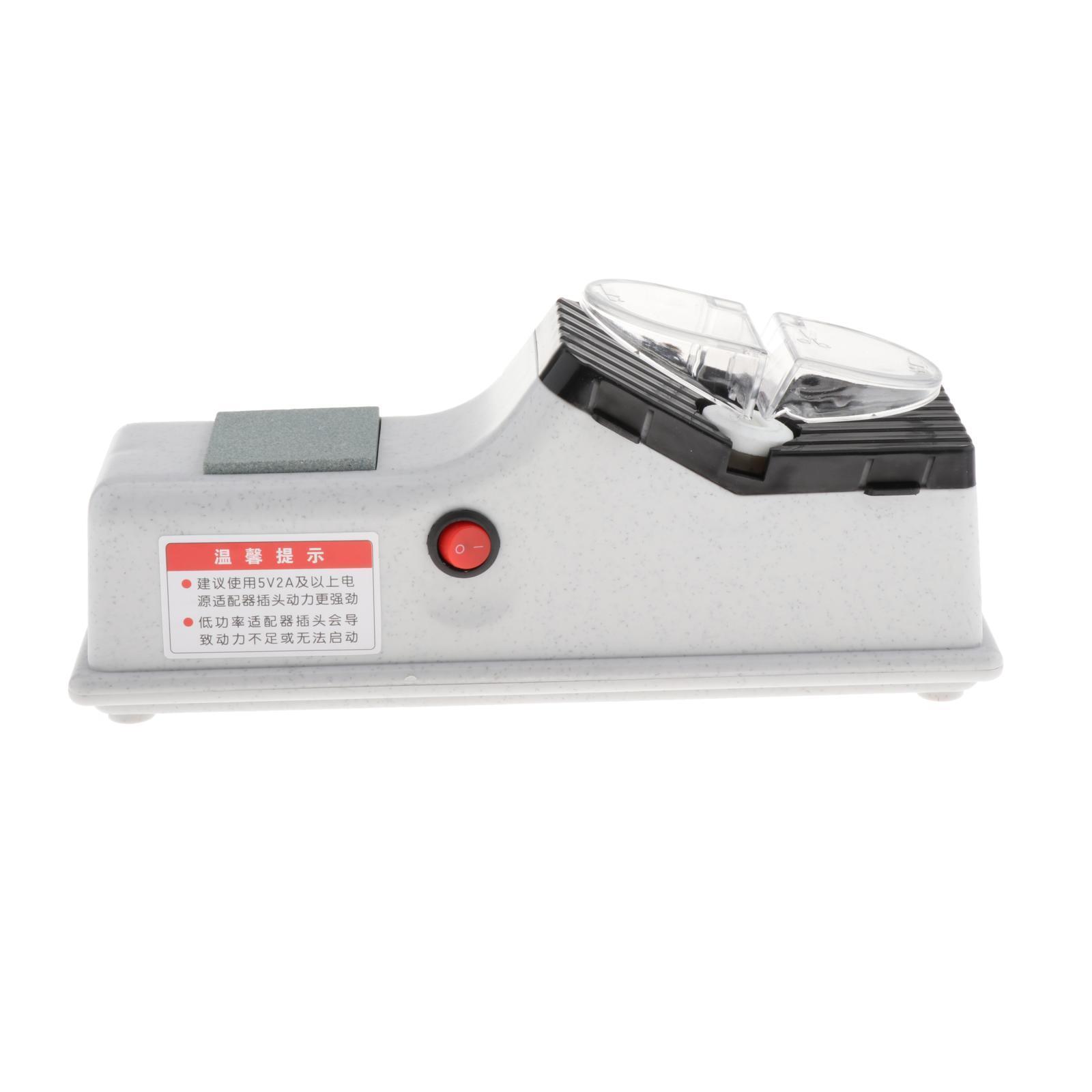 miniatura 6 - Professionale Elettrico Coltello Scissor Sharpener Smerigliatrice Lame